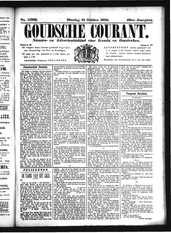 Goudsche Courant 1910-10-18