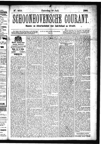 Schoonhovensche Courant 1899-07-29