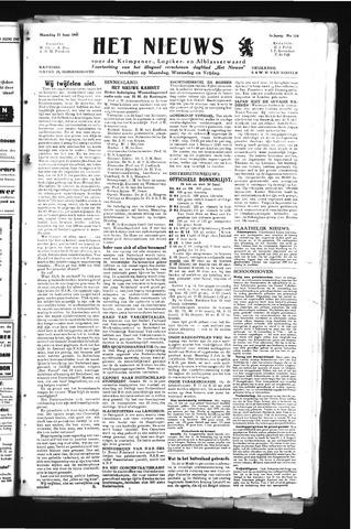 Schoonhovensche Courant 1945-06-25