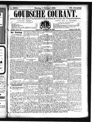 Goudsche Courant 1916-02-01