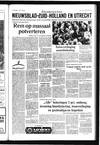 Schoonhovensche Courant 1970-09-16