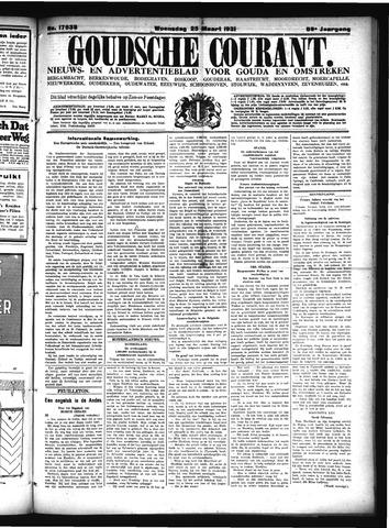Goudsche Courant 1931-03-25