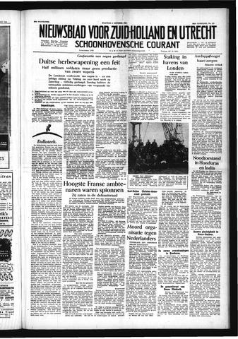 Schoonhovensche Courant 1954-10-04