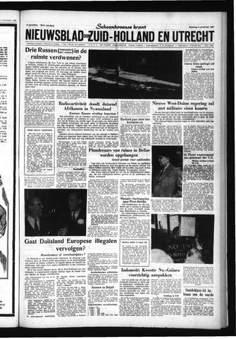 Schoonhovensche Courant 1961-11-06