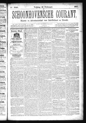 Schoonhovensche Courant 1917-02-23