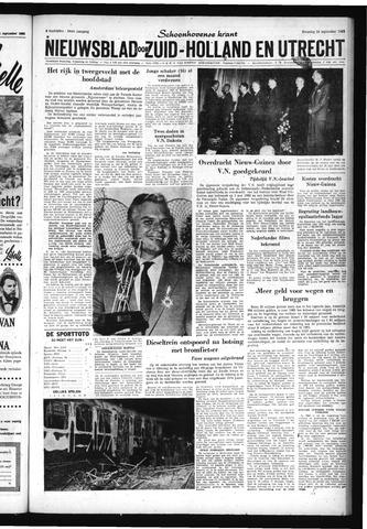 Schoonhovensche Courant 1962-09-24