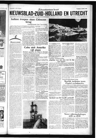 Schoonhovensche Courant 1962-10-31