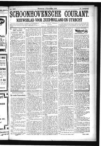 Schoonhovensche Courant 1925-11-02