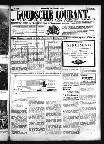 Goudsche Courant 1937-01-16