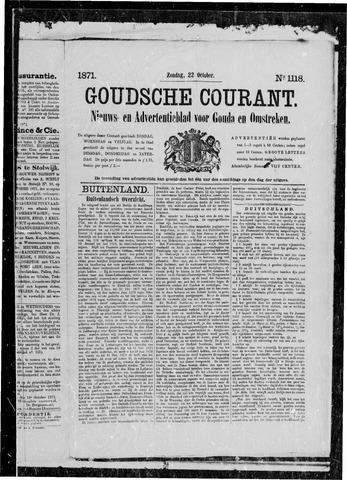 Goudsche Courant 1871-10-22