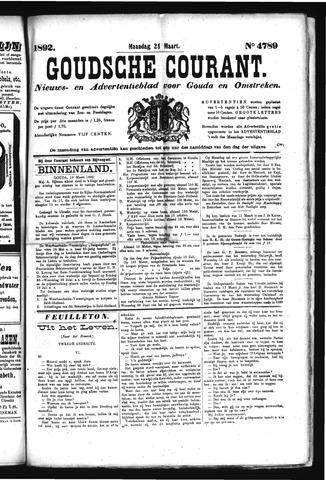 Goudsche Courant 1892-03-21
