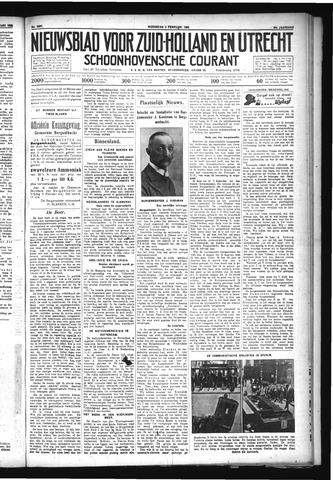 Schoonhovensche Courant 1932-02-03