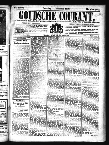 Goudsche Courant 1918-12-07