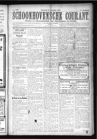 Schoonhovensche Courant 1923-12-24