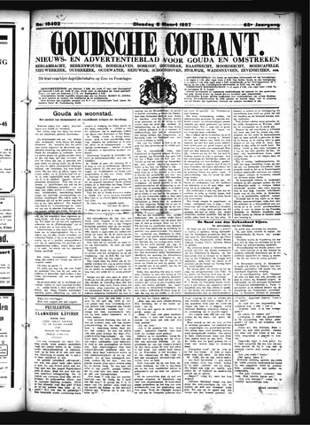Goudsche Courant 1927-03-08