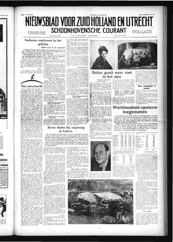 Schoonhovensche Courant 1958-03-05