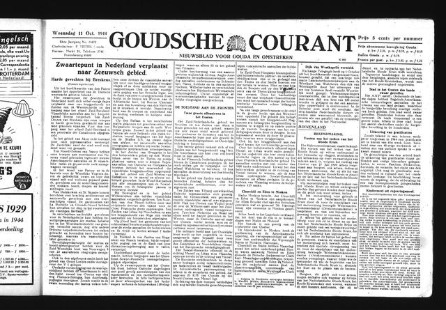 Goudsche Courant 1944-10-11