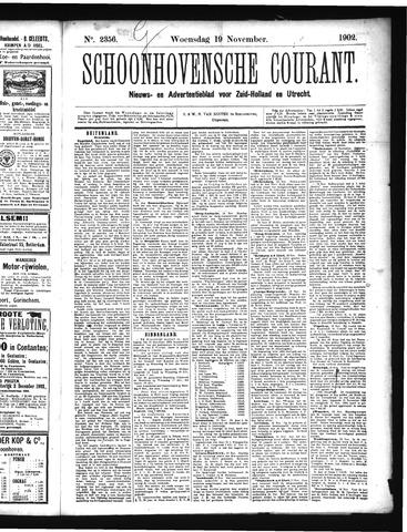 Schoonhovensche Courant 1902-11-19