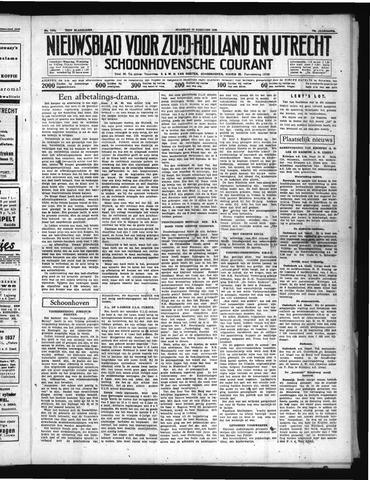 Schoonhovensche Courant 1938-02-28
