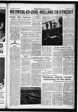 Schoonhovensche Courant 1961-06-21
