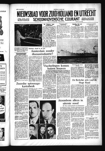 Schoonhovensche Courant 1955-03-16