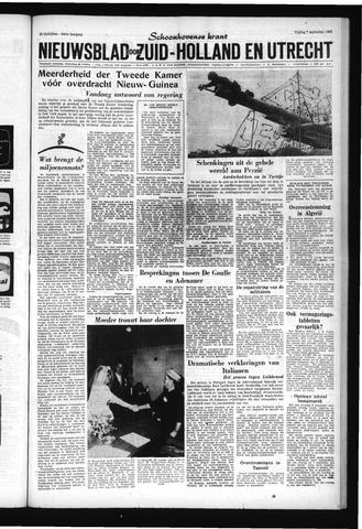 Schoonhovensche Courant 1962-09-07