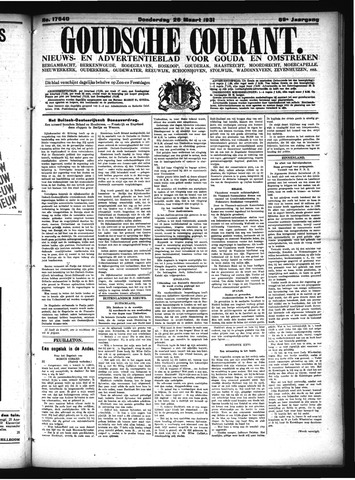 Goudsche Courant 1931-03-26