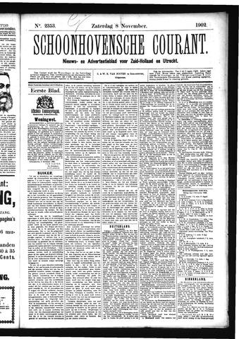 Schoonhovensche Courant 1902-11-08