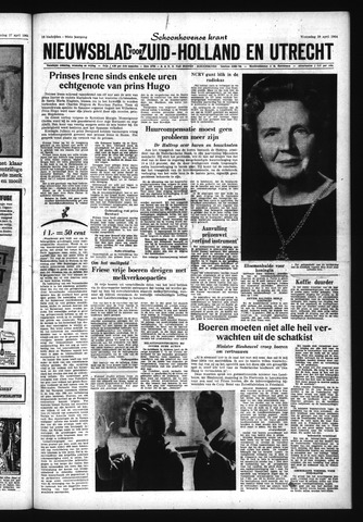 Schoonhovensche Courant 1964-04-29
