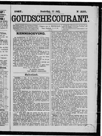 Goudsche Courant 1867-07-11