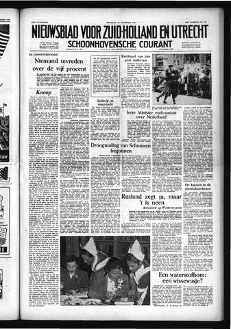 Schoonhovensche Courant 1953-09-30