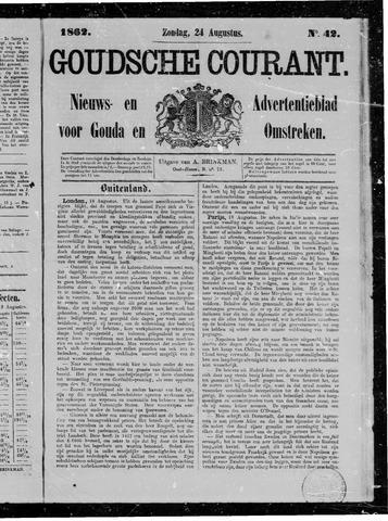 Goudsche Courant 1862-08-24