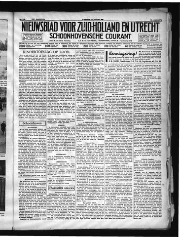 Schoonhovensche Courant 1938-01-12