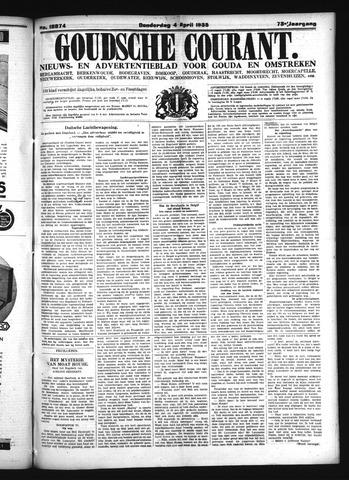 Goudsche Courant 1935-04-04