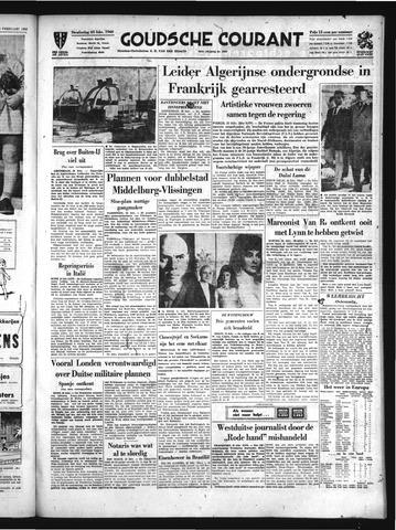 Goudsche Courant 1960-02-25