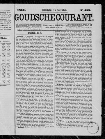 Goudsche Courant 1866-11-15