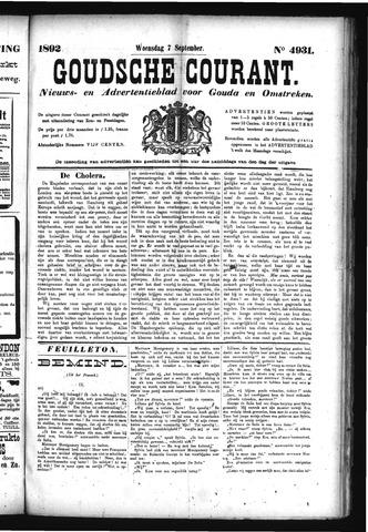 Goudsche Courant 1892-09-07