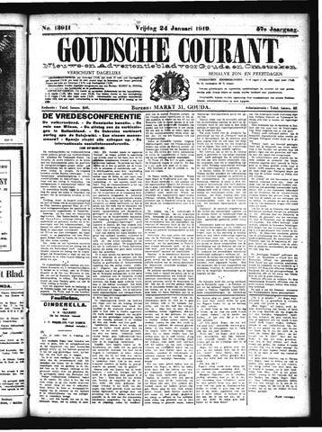 Goudsche Courant 1919-01-24