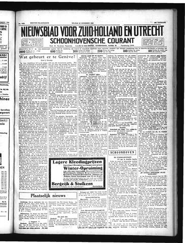 Schoonhovensche Courant 1934-11-30