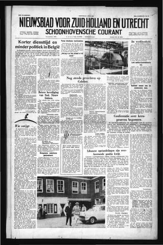 Schoonhovensche Courant 1958-07-02