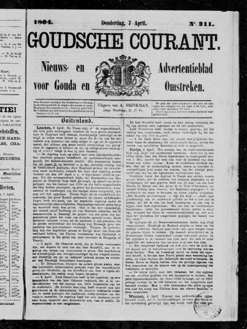 Goudsche Courant 1864-04-07