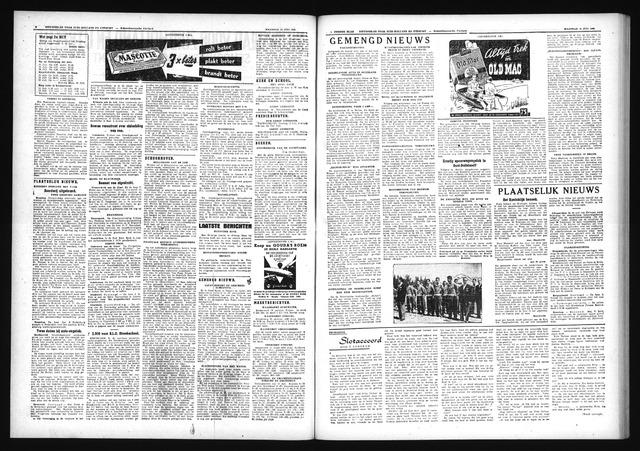 Schoonhovensche Courant 1952-07-14