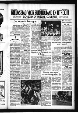 Schoonhovensche Courant 1955-08-05