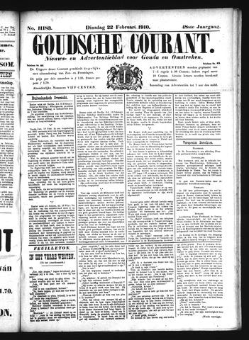 Goudsche Courant 1910-02-22