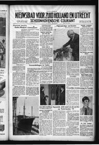 Schoonhovensche Courant 1957-10-21