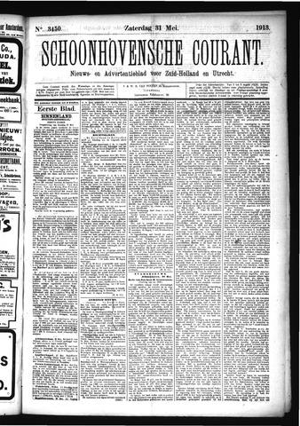 Schoonhovensche Courant 1913-05-31