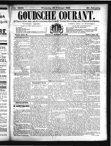 Goudsche Courant 1913-02-26