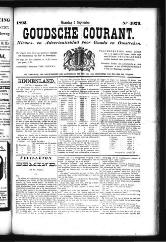 Goudsche Courant 1892-09-05