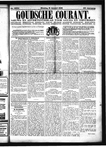 Goudsche Courant 1926-01-19