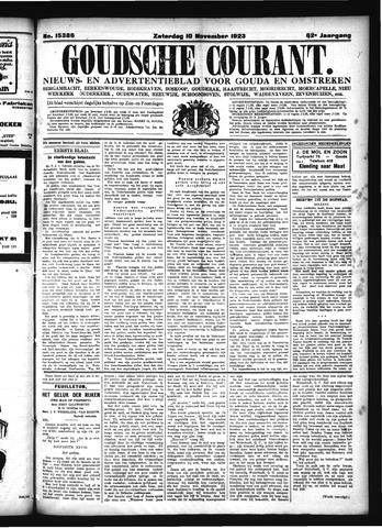 Goudsche Courant 1923-11-10